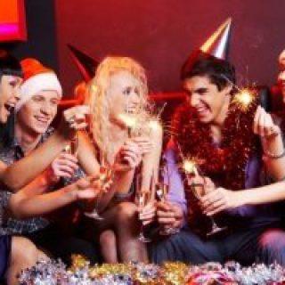 веселые новогодние тосты